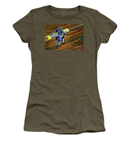 Ama 250sx Supercross Aaron Plessinger Women's T-Shirt (Athletic Fit)
