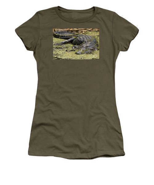 American Alligator Smile Women's T-Shirt