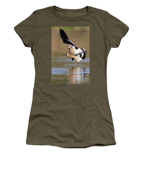 American Avocets Women's T-Shirt (Athletic Fit)
