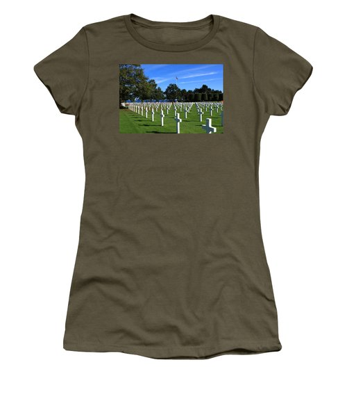 American Cemetery Normandy Women's T-Shirt