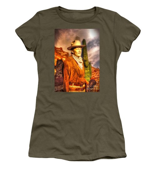American Cinema Icons - The Duke Women's T-Shirt (Athletic Fit)