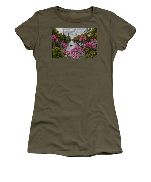 Amsterdam Women's T-Shirt (Athletic Fit)