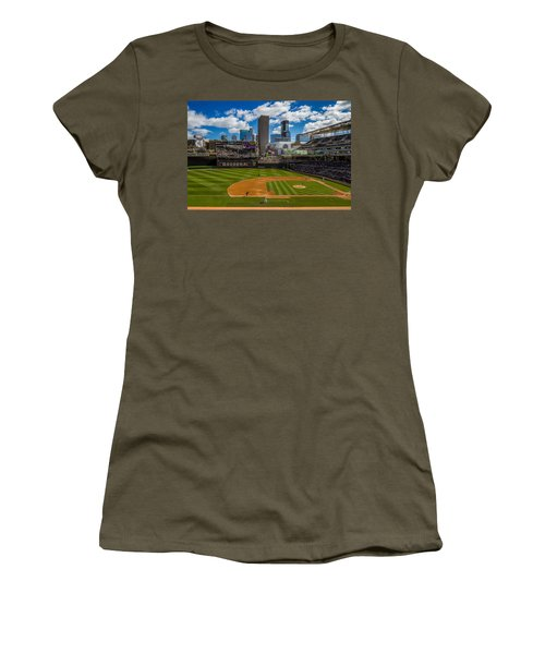 An Afternoon At Target Field Women's T-Shirt (Athletic Fit)