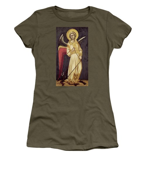 An Angel With A Demon On A Chain Women's T-Shirt