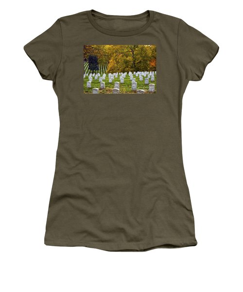 An Autumn Day In Arlington Women's T-Shirt