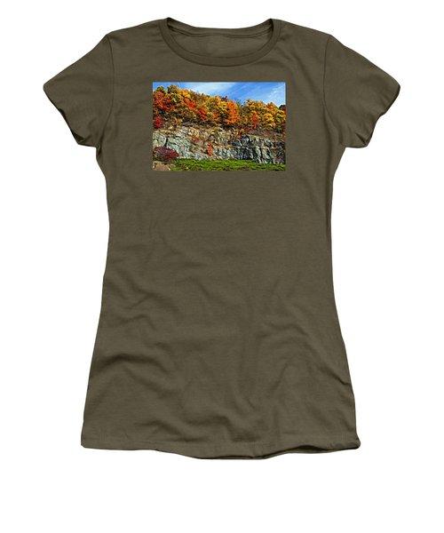 An Autumn Day Painted Women's T-Shirt