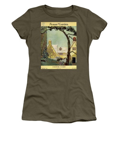 An English Country House Women's T-Shirt
