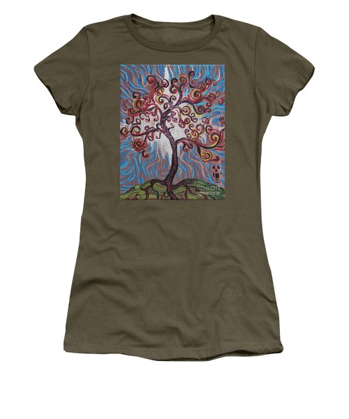 An Enlightened Tree Women's T-Shirt
