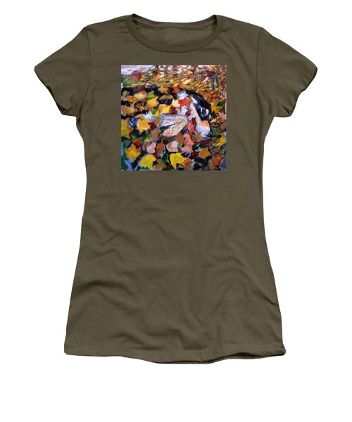 An006 Women's T-Shirt (Athletic Fit)