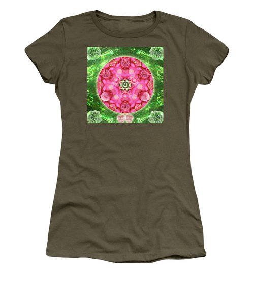 Anahata Rose Women's T-Shirt (Athletic Fit)