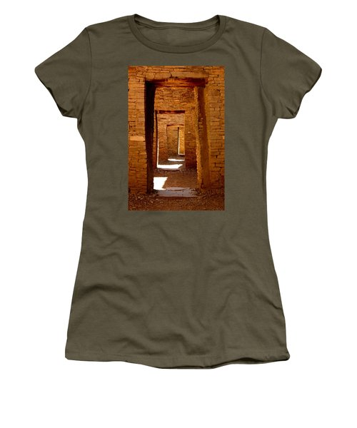 Ancient Galleries Women's T-Shirt (Junior Cut) by Joe Kozlowski