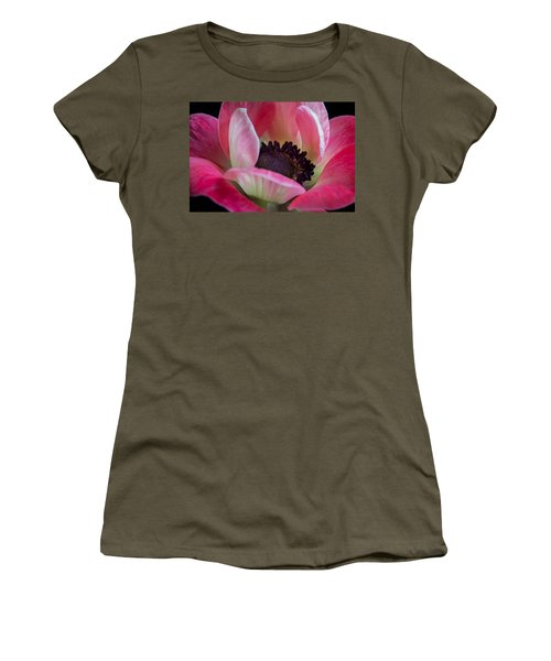 Anemone In Fuchsia Women's T-Shirt