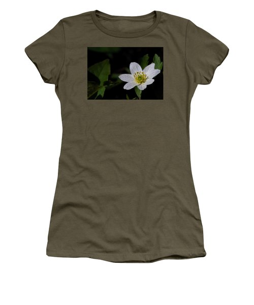 Anemone Nemorosa  By Leif Sohlman Women's T-Shirt (Junior Cut) by Leif Sohlman