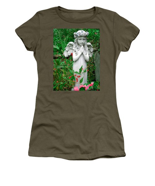 Women's T-Shirt (Junior Cut) featuring the photograph Angel by Aimee L Maher Photography and Art Visit ALMGallerydotcom