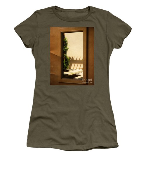 Angled Reflections2 Women's T-Shirt (Athletic Fit)