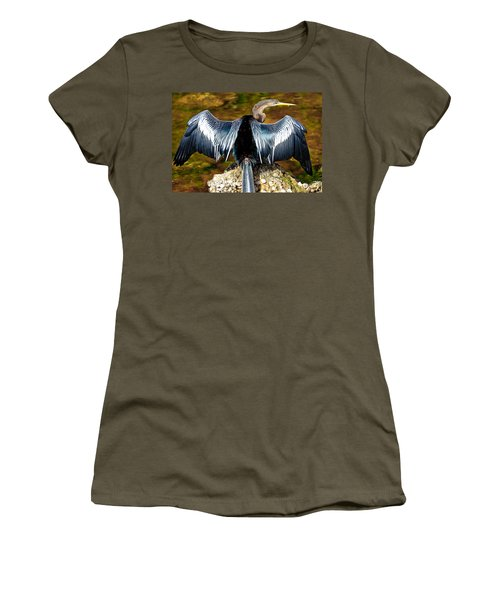 Anhinga  Women's T-Shirt (Athletic Fit)