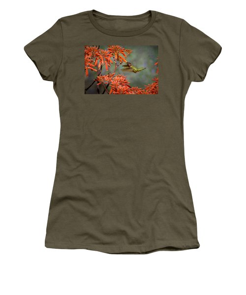 Anna's Hummingbird Women's T-Shirt (Athletic Fit)