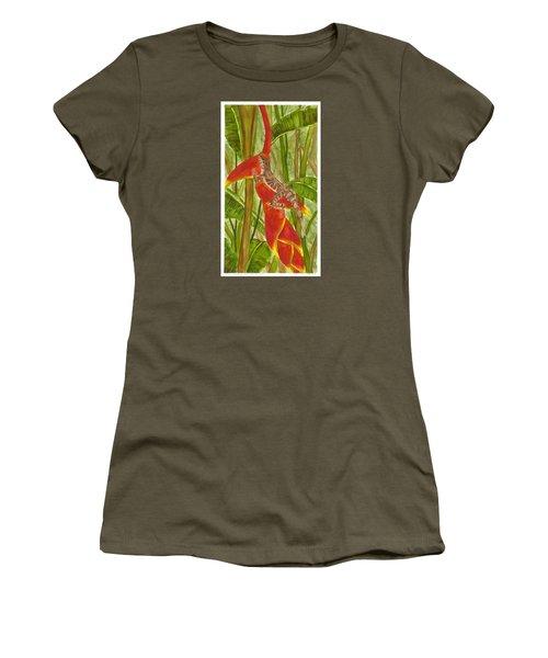 Anolis Humilis Women's T-Shirt (Junior Cut) by Cindy Hitchcock