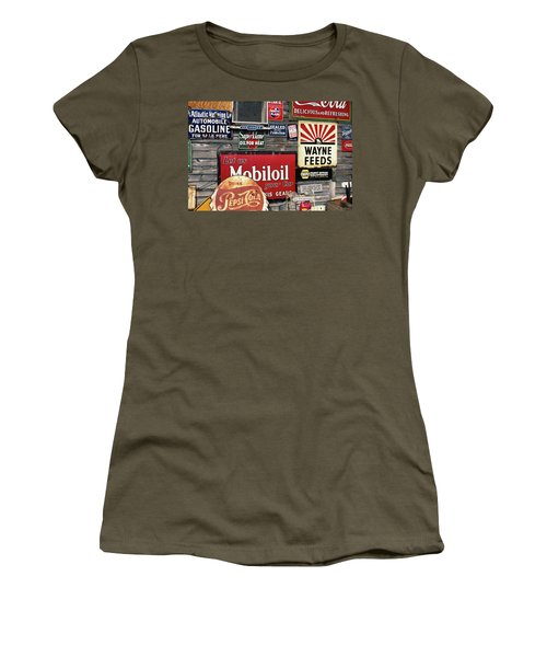 Antique Store Featuring Old Brand Name Women's T-Shirt