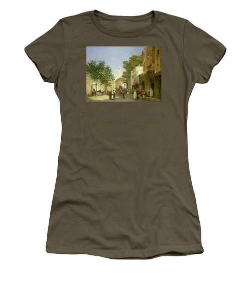 Arab Street Scene Women's T-Shirt