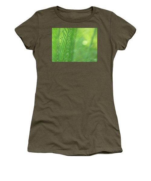 Women's T-Shirt (Junior Cut) featuring the photograph Arabesque by Evelyn Tambour