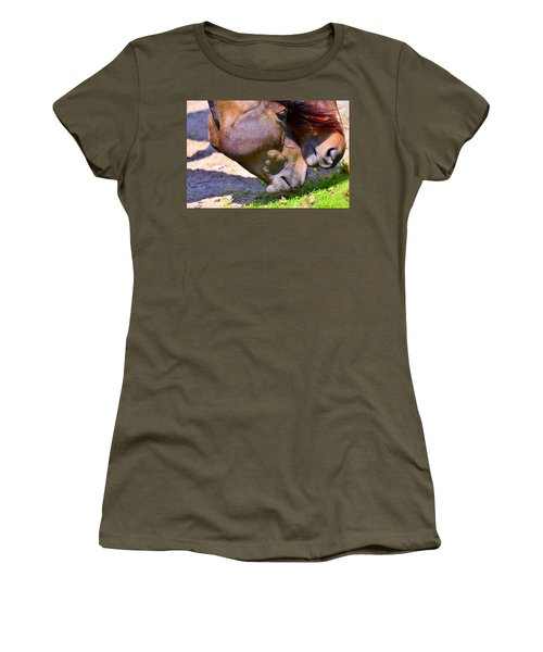 Arabian Horses Women's T-Shirt (Athletic Fit)