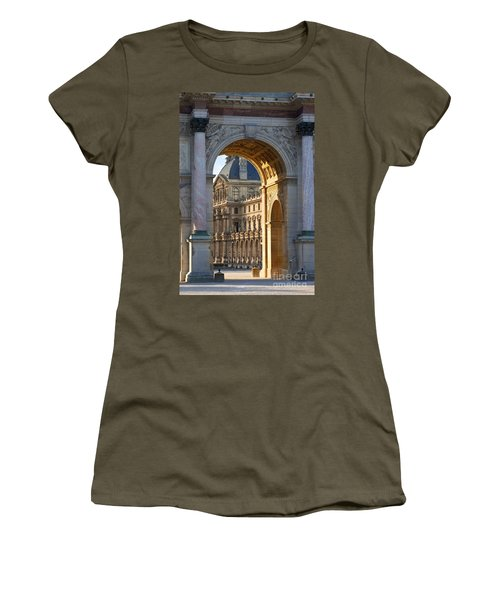 Arc De Triomphe Du Carrousel Women's T-Shirt