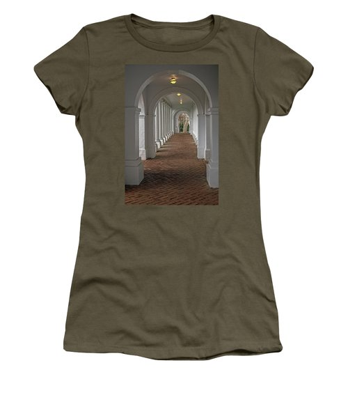 Arches At The Rotunda At University Of Va Women's T-Shirt