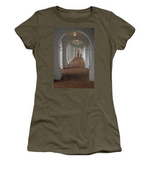 Arches At The Rotunda At University Of Va Women's T-Shirt