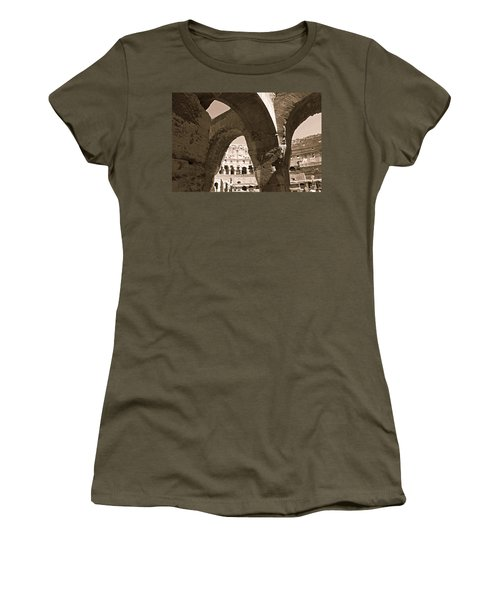 Arches In The Colosseum Women's T-Shirt