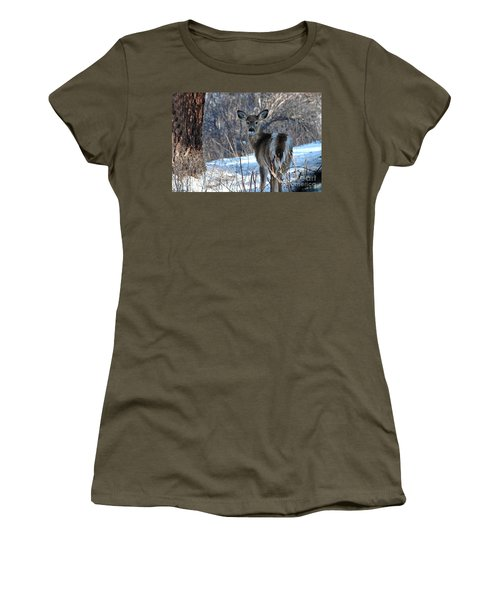 Are You Looking At Me Women's T-Shirt (Athletic Fit)
