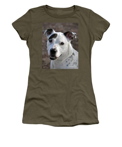 Women's T-Shirt (Junior Cut) featuring the photograph Are You Looking At Me? by Savannah Gibbs