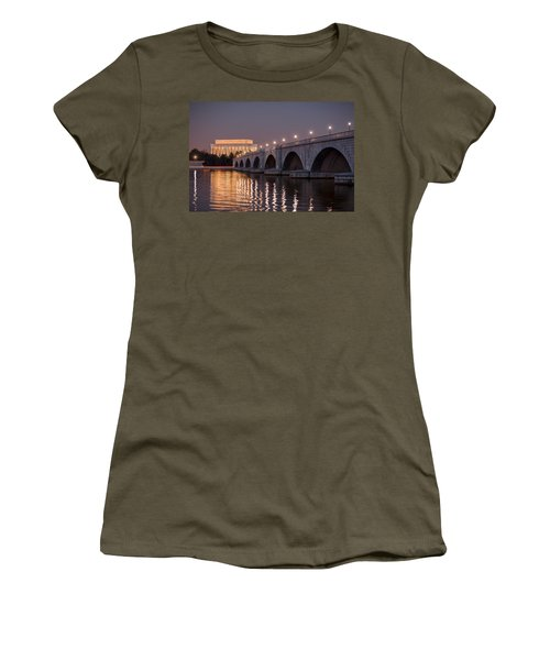 Arlington Memorial Bridge Women's T-Shirt