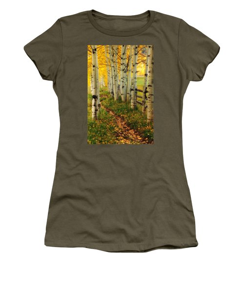 Aspen Path Women's T-Shirt (Athletic Fit)