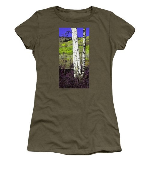 Aspens 4 Women's T-Shirt (Athletic Fit)