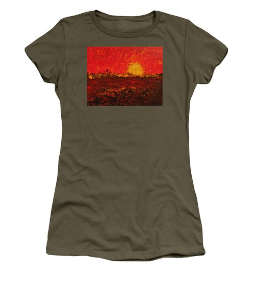 August Fields Women's T-Shirt (Athletic Fit)