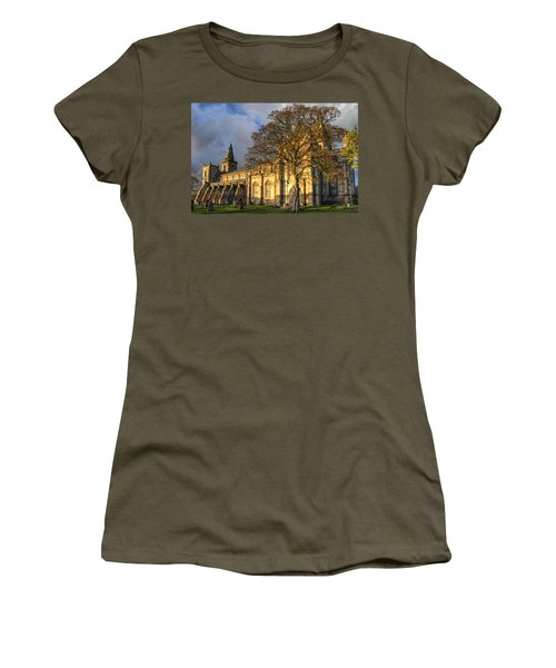 Autumn At Dunfermline Abbey Women's T-Shirt