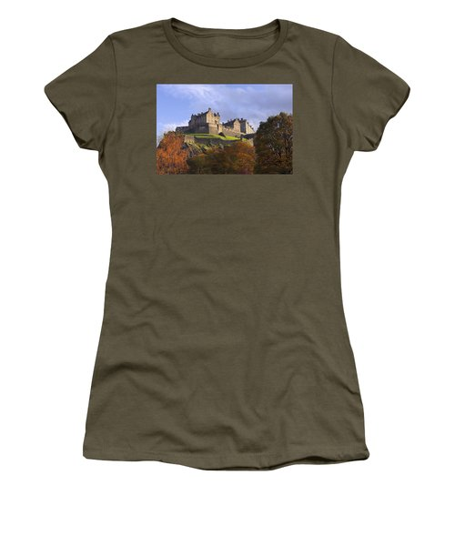 Autumn At Edinburgh Castle Women's T-Shirt