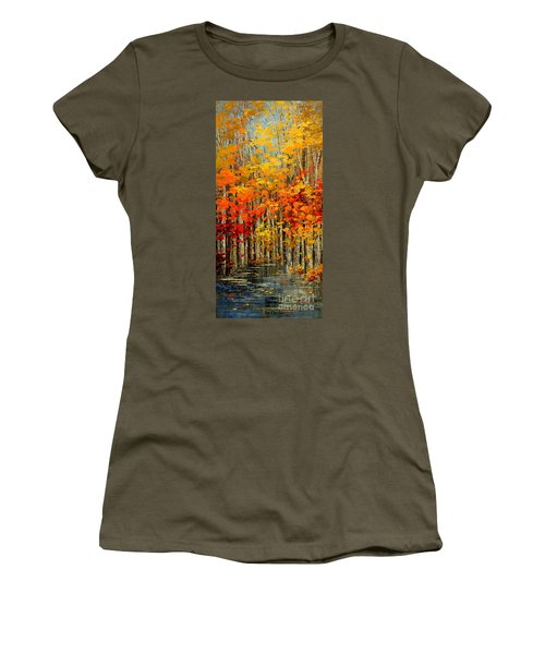 Autumn Banners Women's T-Shirt (Athletic Fit)