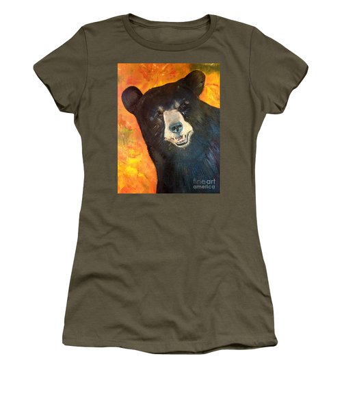 Autumn Bear Women's T-Shirt