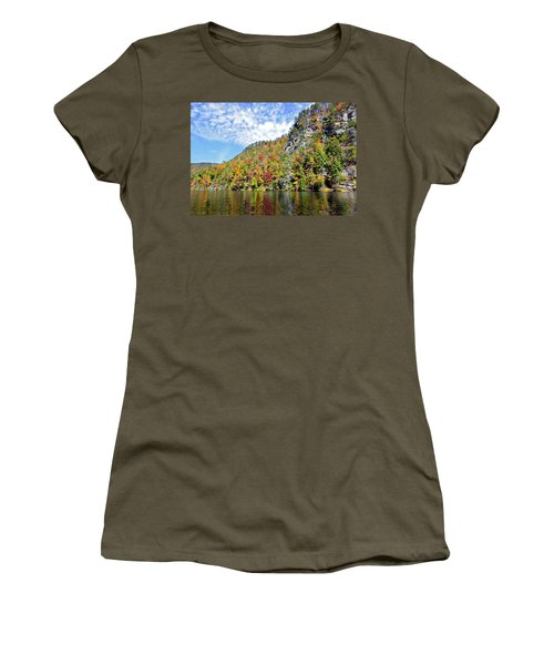 Autumn Colors On A Lake Women's T-Shirt