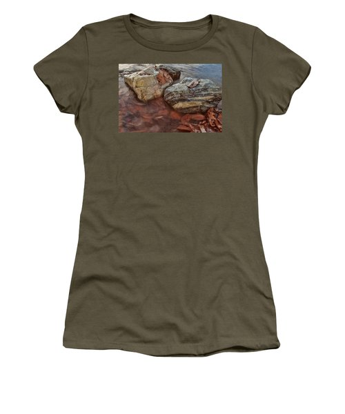 Autumn Drift Women's T-Shirt (Athletic Fit)