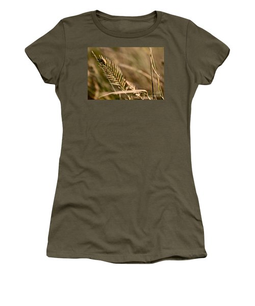 Autumn Grasses Women's T-Shirt (Athletic Fit)