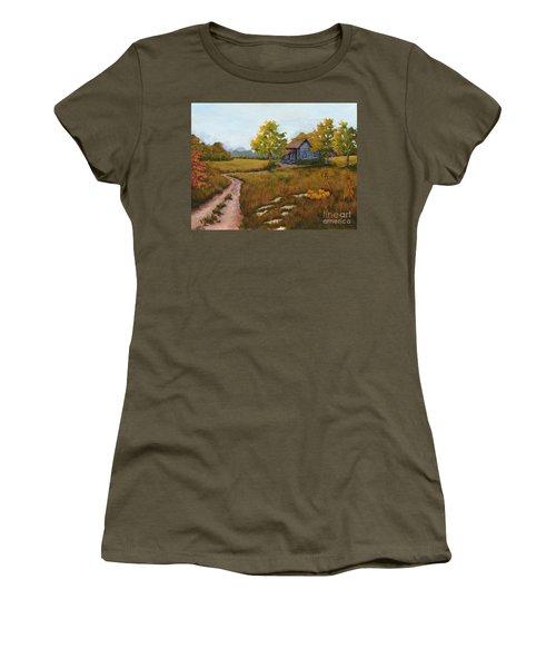 Autumn Harvest Women's T-Shirt (Athletic Fit)