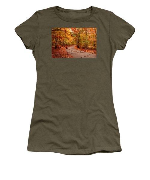 Autumn In Holmdel Park Women's T-Shirt