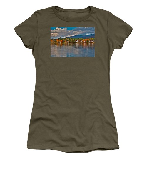 Autumn In Melvin Village Women's T-Shirt (Athletic Fit)