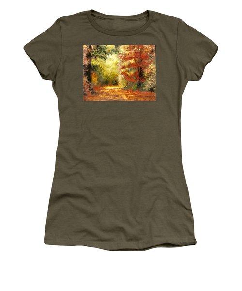 Autumn Memories Women's T-Shirt (Athletic Fit)