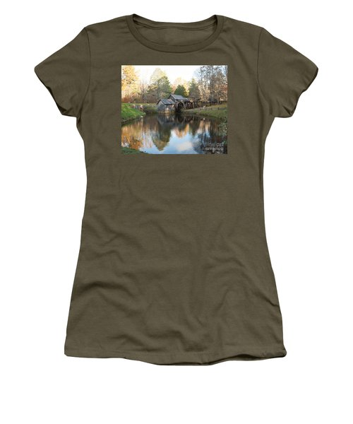 Autumn Morning At Mabry Mill Women's T-Shirt