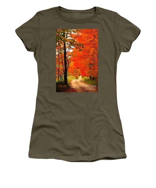 Autumn Orange 2 Women's T-Shirt
