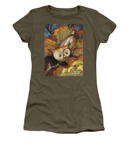 Autumn Owl Women's T-Shirt
